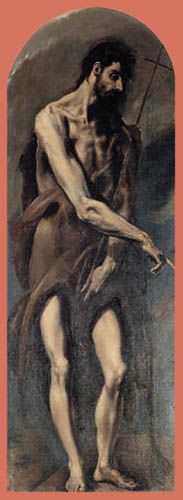 El Greco (Doménikos Theotokópoulos) - Saint Juan Baptiste