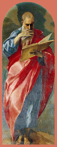 El Greco (Doménikos Theotokópoulos) - Johannes der Täufer