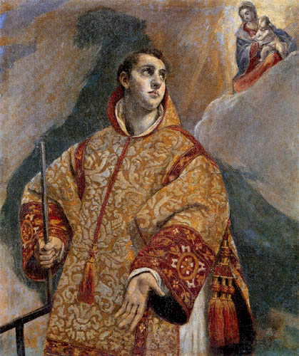 El Greco (Doménikos Theotokópoulos) - Saint Laurent