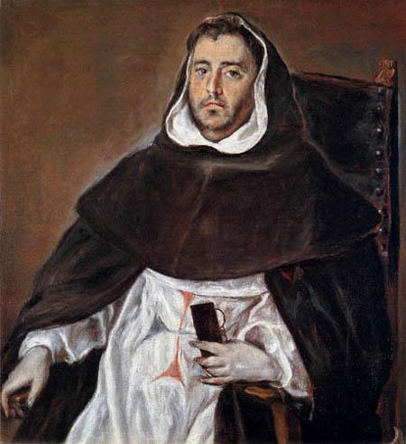 El Greco (Doménikos Theotokópoulos) - Klosterbruder