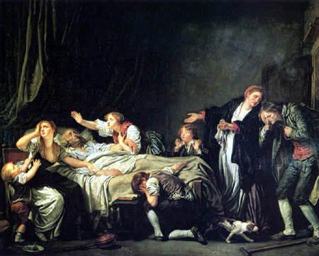 Jean-Baptiste Greuze - Der gestrafte Sohn