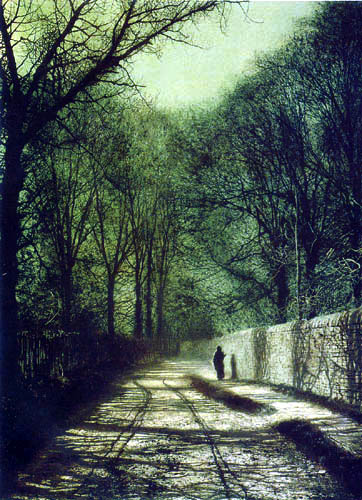 Atkinson Grimshaw - Roundhay Park, Leeds