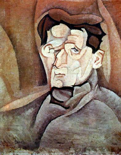 Juan Gris - Portrait of Maurice Raynal