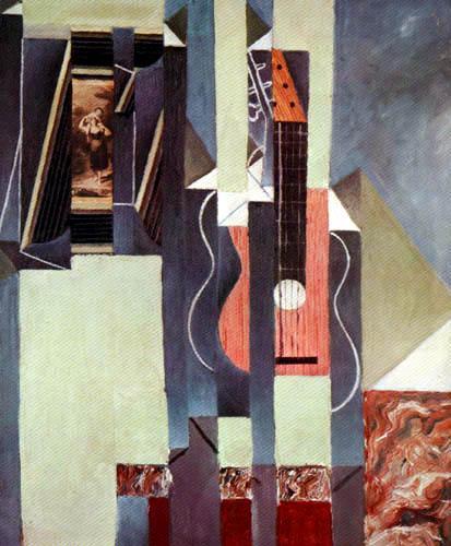 Juan Gris - Die Gitarre