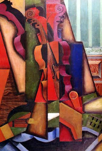 Juan Gris - Violine und Gitarre