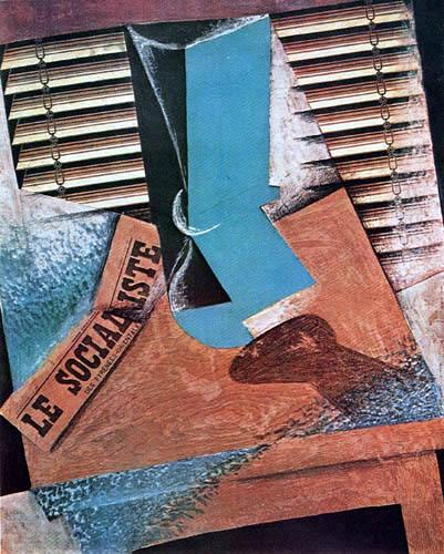 Juan Gris - Roller blind