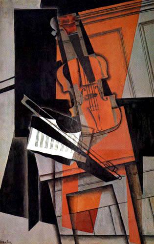 Juan Gris - Violin