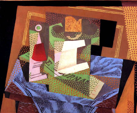 Juan Gris - Bol de fruits sur une table