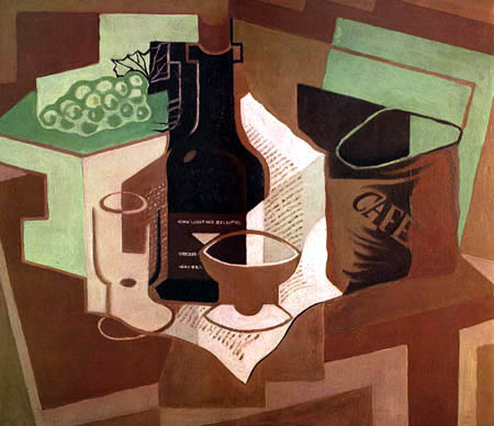 Juan Gris - The Bag of Coffee