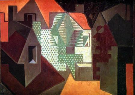 Juan Gris - The Village