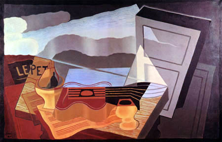 Juan Gris - View of a bay