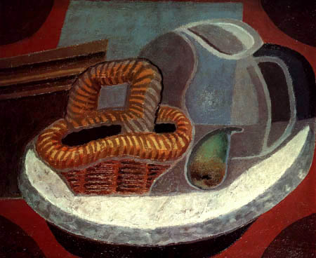 Juan Gris - The small marble table