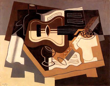 Juan Gris - Guitare et clarinette