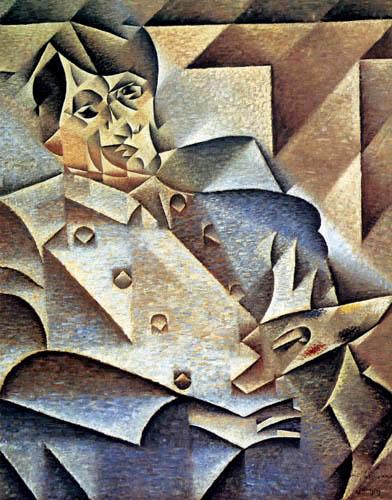 Juan Gris - Retrato de Pablo Picasso