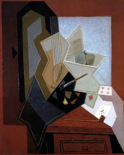 Juan Gris - The window of the artist