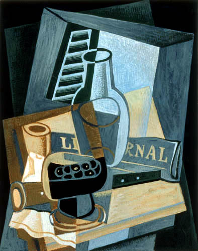 Juan Gris - Before the window