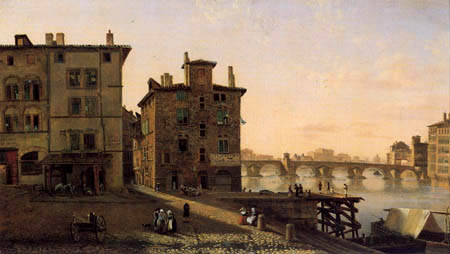 Jean-Michel Grobon - Old quarter of fisher from Lyon