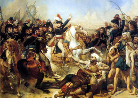 Antoine-Jean Gros - Bonaparte vor der Schlacht