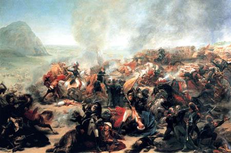 Antoine-Jean Gros - Die Schlacht bei Nazareth