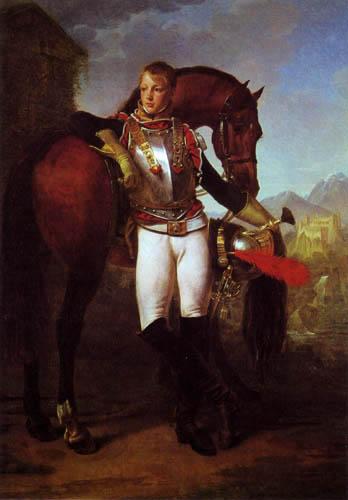 Antoine-Jean Gros - Leutnant Legrand
