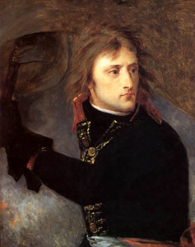 Antoine-Jean Gros - Bonaparte an der Brücke von Arcola
