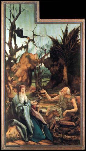 Matthias (Matthaeus, Mathis) Grünewald (Grün) - The altar of Isenheim