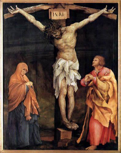 Matthias (Matthaeus, Mathis) Grünewald (Grün) - Kreuztragender Christi