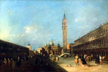 Francesco Guardi - Piazza San Marco