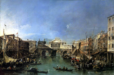 Francesco Guardi - Le projet du Palladio
