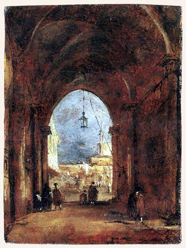 Francesco Guardi - An architectural Capriccio