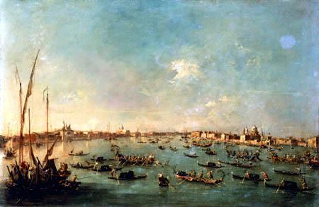 Francesco Guardi - Canal della Giudecca, Venise