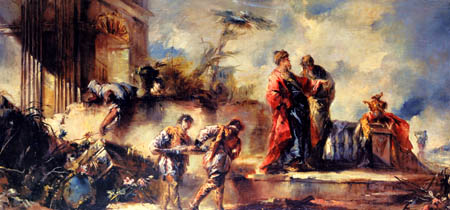 Gianantonio Guardi - The Wedding of Tobias and Sarah