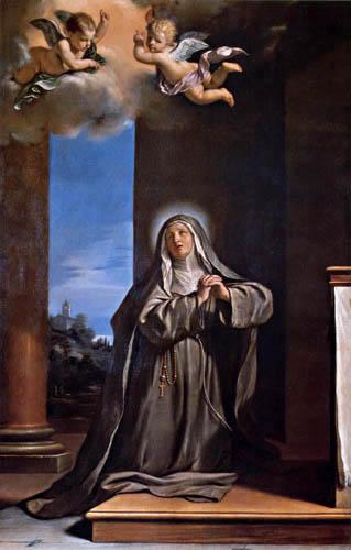 Guercino il (Giovanni Francesco Barbieri) - St. Margarete of Cortona