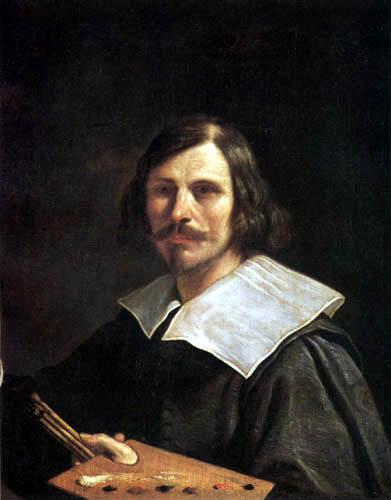 Guercino il (Giovanni Francesco Barbieri) - Selfportrait