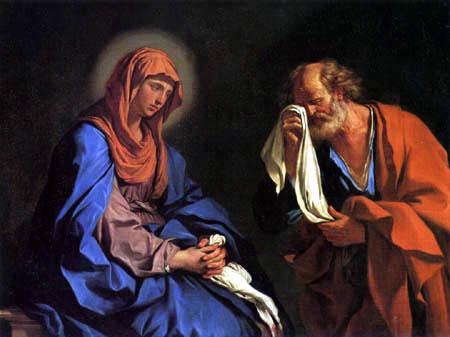 Guercino il (Giovanni Francesco Barbieri) - Die Tränen des hl. Petrus