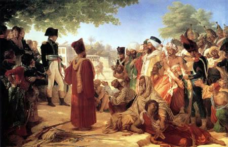 Baron Pierre Narcisse Guérin - Bonaparte begnadigt Aufständische von Kairo