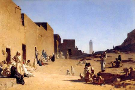 Gustave Guillaumet - Laghouat, Algerian Sahara