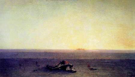 Gustave Guillaumet - The desert Sahara