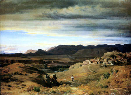 Louis Gurlitt - Spanische Landschaft