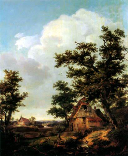 Louis Gurlitt - Mill at Itzehoe