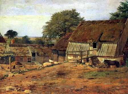 Louis Gurlitt - Farm in Sweden