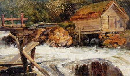 Louis Gurlitt - Ullensvang, Norwegen