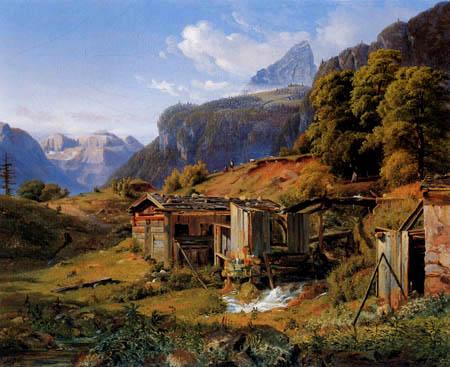Louis Gurlitt - At Berchtesgaden