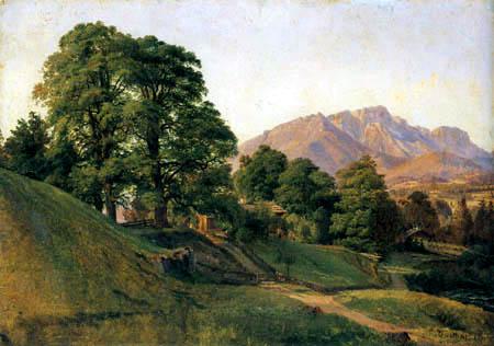 Louis Gurlitt - Landscape in Upper Bavaria