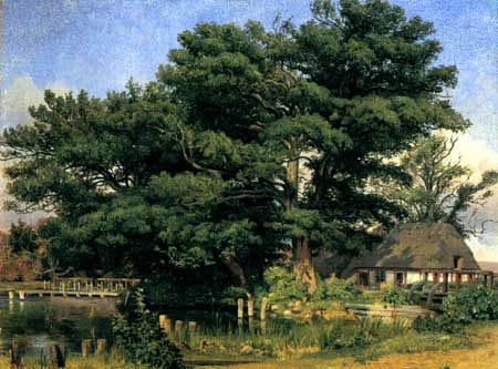 Louis Gurlitt - Landscape near Silkeborg, Denmark