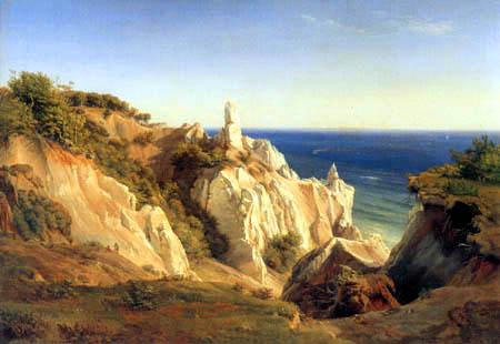 Louis Gurlitt - The chalk cliffs of Moen