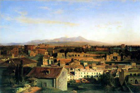 Louis Gurlitt - View of Rome