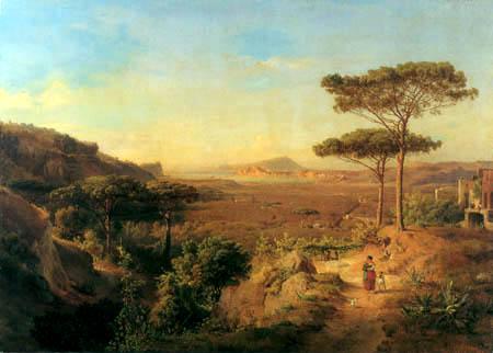 Louis Gurlitt - Italienische Küstenlandschaft