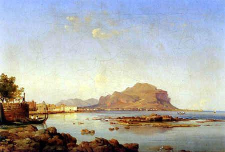 Louis Gurlitt - Monte Pellegrino