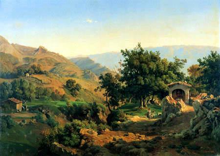 Louis Gurlitt - Rocca di San Steffano, Sabiner Berge